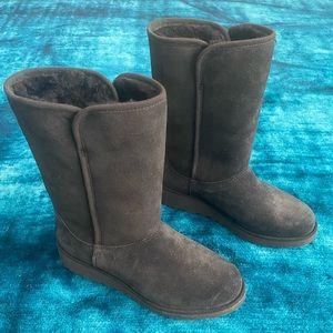 "UGG Australia ""Amie"" Black Boots - Size 6.5"